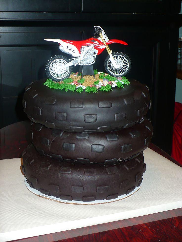 Dirt Bike Cake Wwwtwistedsistercakescom Cakes Bike