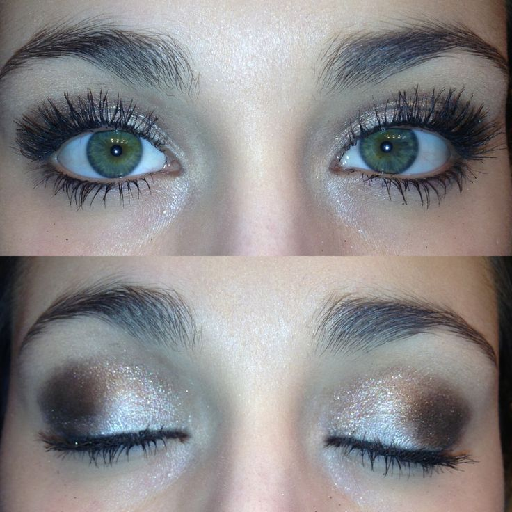 My everyday look.. Urban Decay Naked pallet 2. Apply Booty Call to whole lid. In the crease apply YDK. In the outer V of your eye apply busted. Go back and apply Booty Call to inner corner. Add a thin line of eyeliner and mascara to top it all off!