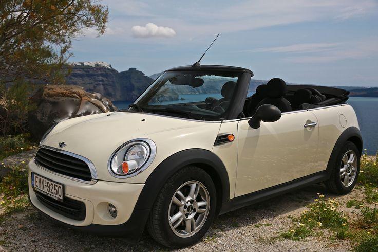 #Mini Cooper #Convertible #Feel Free #Santorini #Luxury Cars
