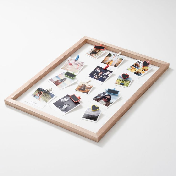 Timeframe's Large Floating Frame is the perfect way to show off your super cute snaps. This frame + your pics and our pegs = a stylish display of your memories.   This frame is made with twine and meranti.