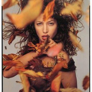 Christy by Richard Avedon for the Pirelli calendar (1995)