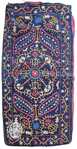 Armenian embroidered panel. From K.Maraş, early 20th century. Source: 'Marash Embroidery' published by the Marash Compatriotic Union and the Kermanig Vasburagan Cultural Union, Aleppo, 2010.