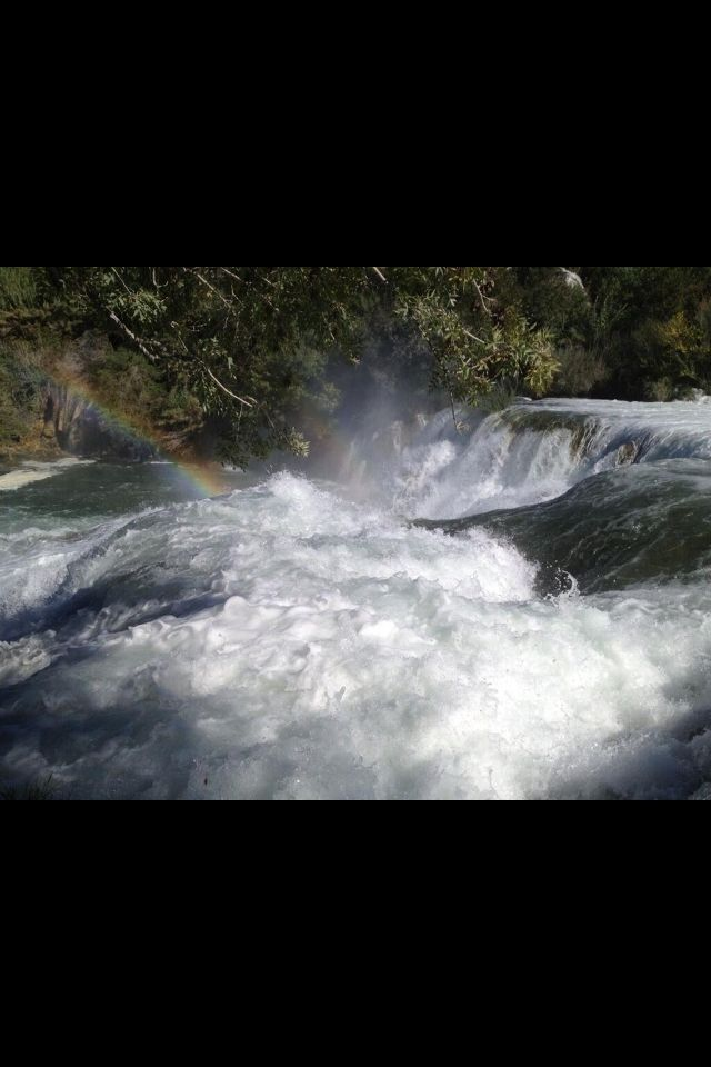 #doppio #arcobaleno #croazia #parco #nazionale #sopralluoghi #e #girati  @palkolndrekaj