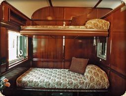 railway sleeper car style built in bed i adore built in beds for their snugness and space. Black Bedroom Furniture Sets. Home Design Ideas
