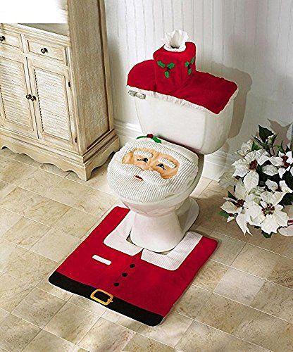 Generic Santa Toilet Seat Cover and Rug Set (One size, Santa Toilet Seat Cover) - http://www.amazon4all.net/generic-santa-toilet-seat-cover-and-rug-set-one-size-santa-toilet-seat-cover-2/