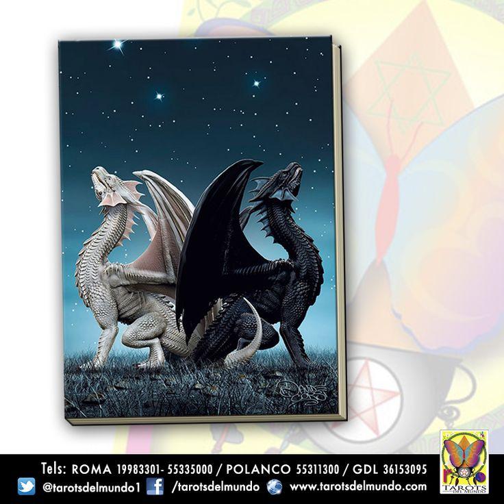 Grimorio dragones mágicos. Ying y Yang.