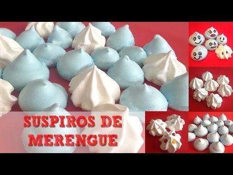 Suspiros de merengue para niños | MiniChefs Repostería para niños - YouTube