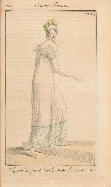 Journal des dames et des modes / Costume Parisien: 5 Octobre, 1812 (a)
