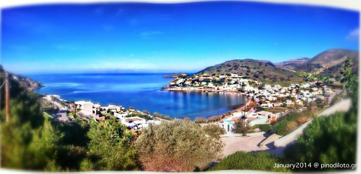 We are enjoying Syros & Pino di Loto's view during winter…. Join us! #pinodiloto #syros