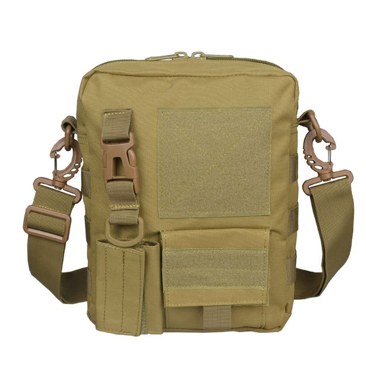 27*2*10cm Tactical Bag 8 Colors Tactical Molle Pouch Belt Waist Bag Military Waist Fanny Pack Small Bag Outdoor Waterproof Bags