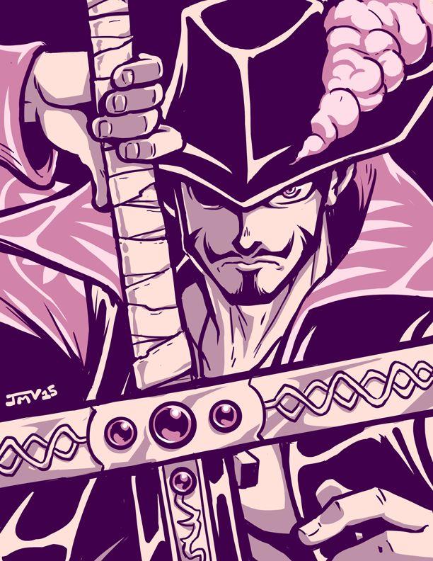 One Piece - Dracule 'Hawk Eyes' Mihawk by Kaigetsudo on DeviantArt