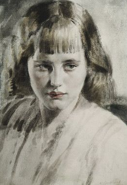 by Gerald Brockhurst (English, 1890-1978)