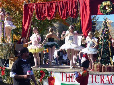 """The Nutcracker Ballet """"dancing"""" through Carson Street on Nevada Day Parade"""