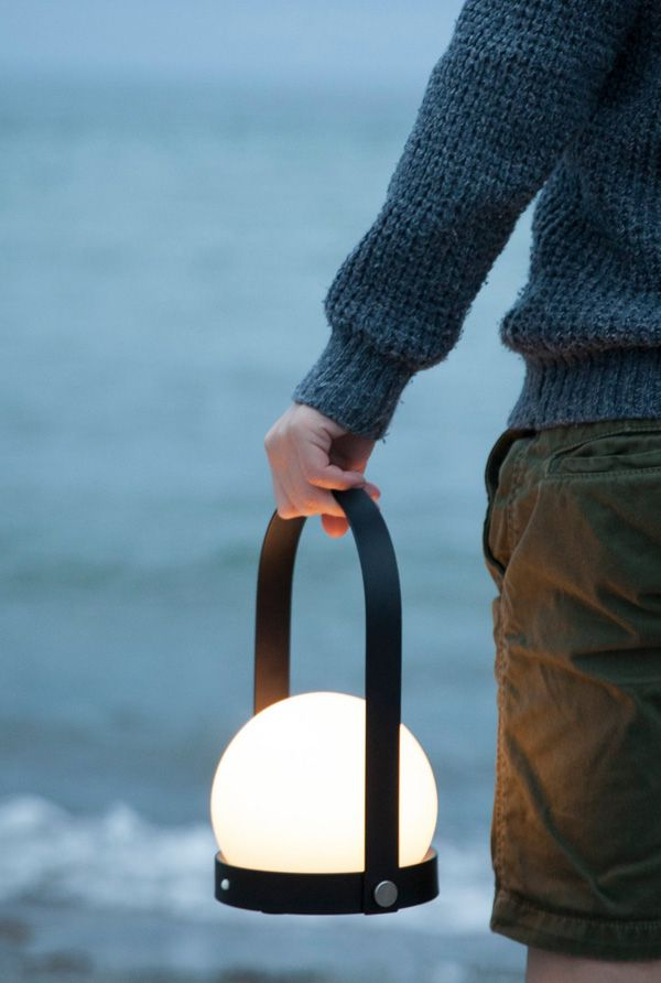 CARRIE PORTABLE LED LAMP BY NORM ARCHITECTS | THE STYLE FILES