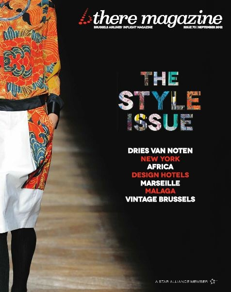 Our September issue of b.there magazine is all about fashion. It profiles the latest and greatest styles and trends and features the Fall/Winter collection of renowned Belgian fashion designer Dries Van Noten. Read it onboard your European Brussels Airlines flight.