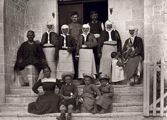 Δελβινάκι, οικογενειακή φωτογραφία1913 Fred Boissonas