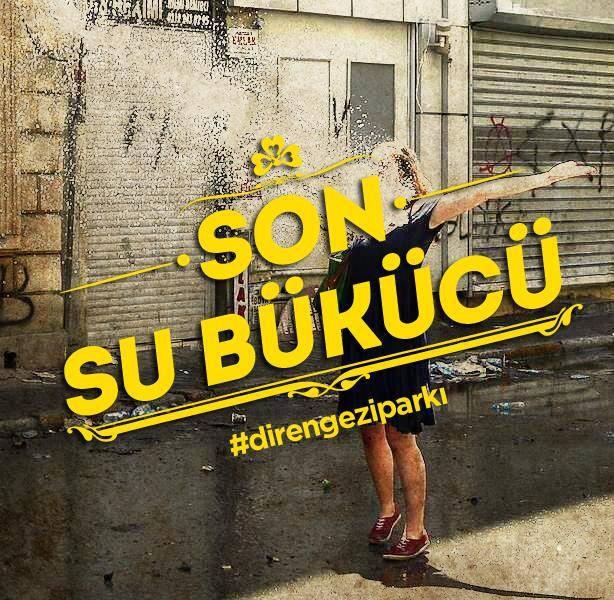 son su bükücü / the last water b.. #occupygezi #direngeziparkı #direngezi #wearegezi #occupytaksim #occupyturkey #chapulling #istanbul #Turkey