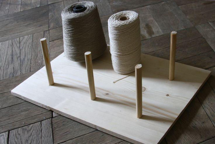 Bobbins of cotton threads