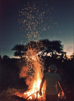 A good night aways ends with a bonfire <3