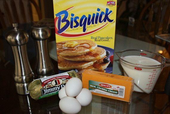 Breakfast Casserole - quick savory company breakfast
