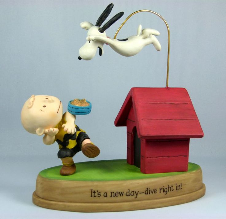 "Snoopy crystal figurine with birthday cake - ""A Birthday Beagle"". Description from pinterest.com. I searched for this on bing.com/images"