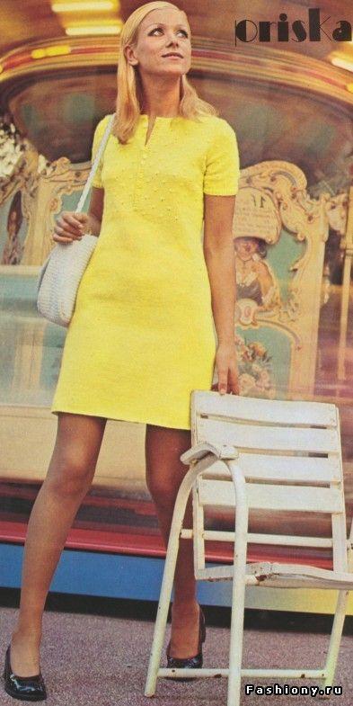 Вязанная мода 60-70 х годов / вязанная одежда