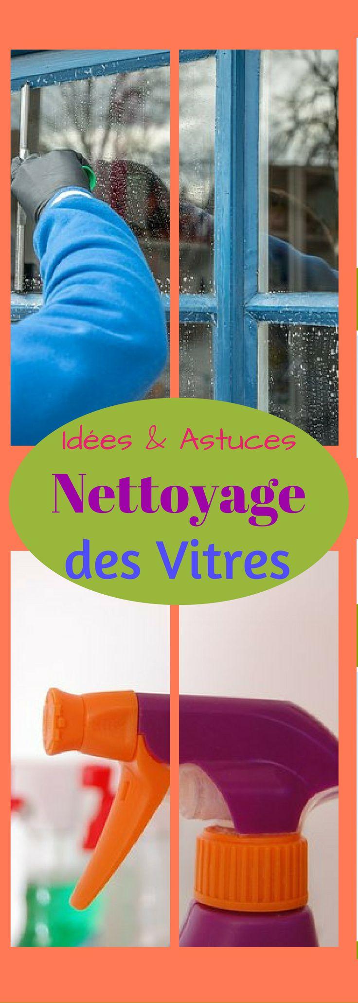 Trucs, Idées et astuces pour nettoyer les vitres #vitrine #astuces #maison