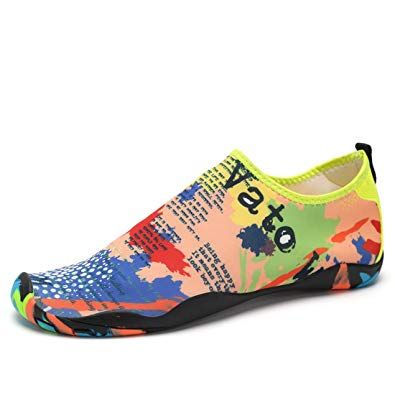 6bc1c4300594 Z.SUO Men Women and Kids Mutifunctional Barefoot Flexible Quick-Dry Water  Skin Shoes Aqua Socks For Beach Swim Surf Yoga Exercise Review