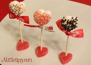 Valentine Marshmallow Pops: Holiday Treats, Valentines, Food, Marshmallow Pops, Cake Pop, Marshmallows, Valentine S, Marshmallow Treats