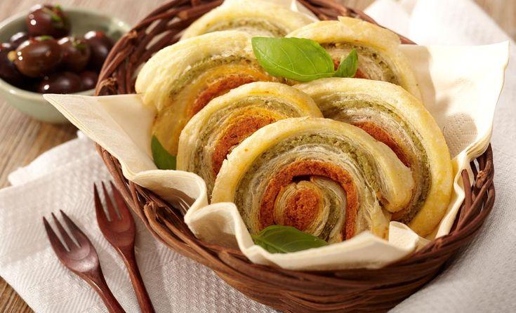 Blätterteig-Schnecken   Bertolli