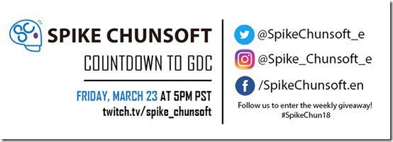 Spike Chunsoft To Reveal Four New Titles In First Global Twitch Livestream In March
