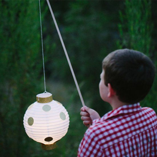 A simple craft to celebrate Bastille Day, or any other Summer evening with kid friendly lanterns!