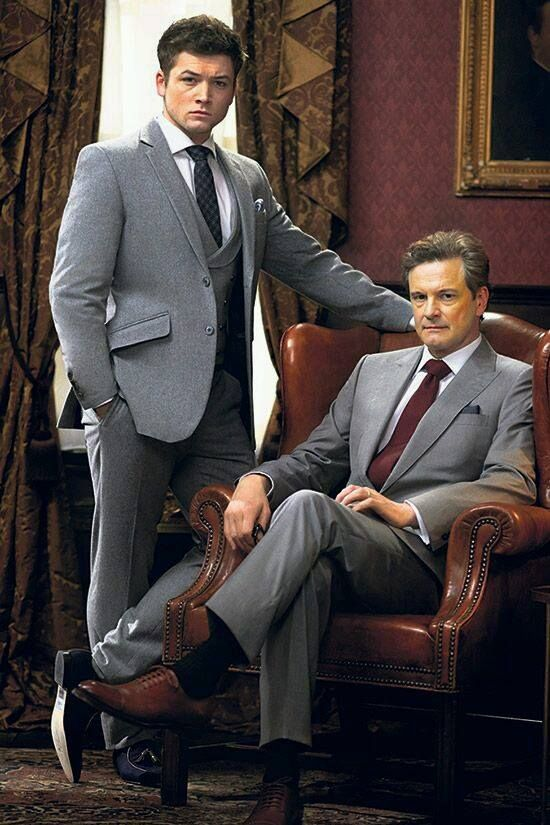 ชอบถ่ายเป็นรูปนี้มาก >//< โพสิชั่นมันใช่อ่ะ #kingsman #ColinFirth #TaronEgerton