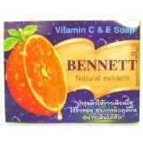 #Bennett Vitamin C + E Natural Extracts Anti-aging Acne Skin Whitening Soap 130g.