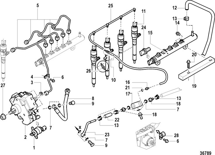 schematic of 2003 2500 dodge fuel system on with cummins 5