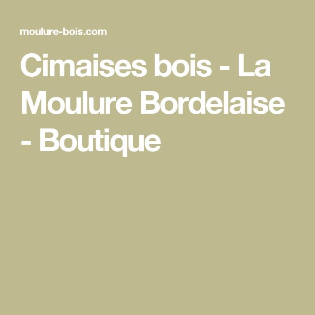 les 25 meilleures id es de la cat gorie cimaise bois sur pinterest moulage cimaise cimaise et. Black Bedroom Furniture Sets. Home Design Ideas