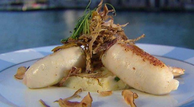 Calamaretti ripieni di baccalà e ricotta | Alice.tv