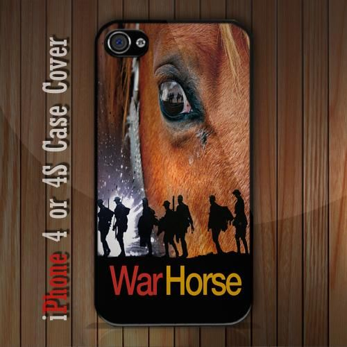 New War Horse iPhone 4 or 4S case Cover iPhone case 4/4S - 1