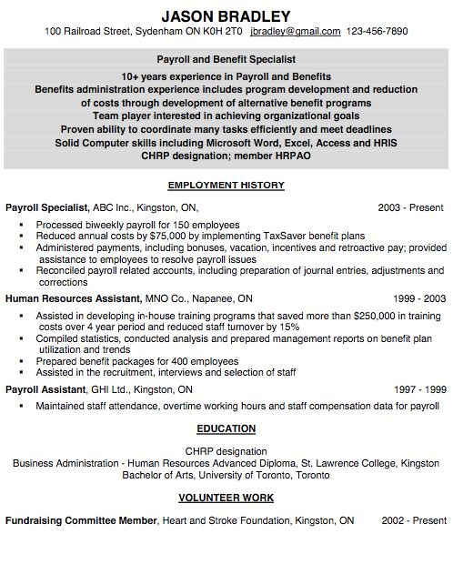 resume for payroll assistant    exampleresumecv org  resume