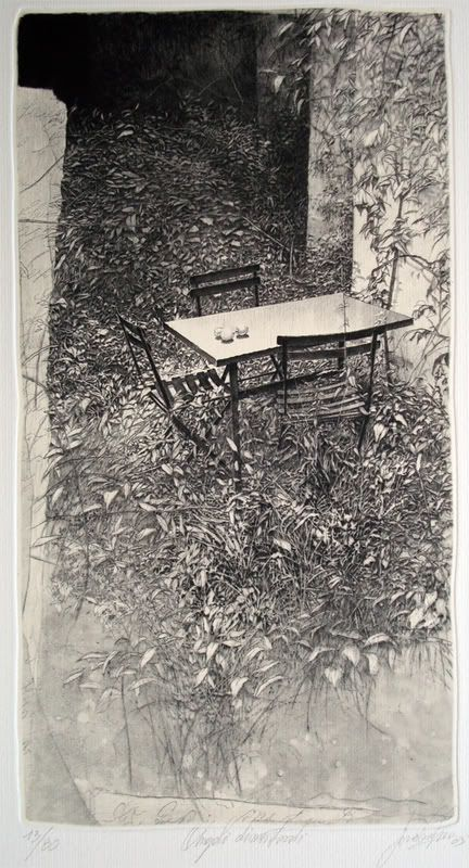 Livio Ceschin (Italian, b.1962)etching and drypoint.