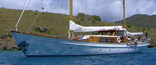 Sailing Yacht for Sale Sea Diamond