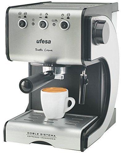 Las mejores cafeteras espresso manuales de 2015: Ufesa CE7141