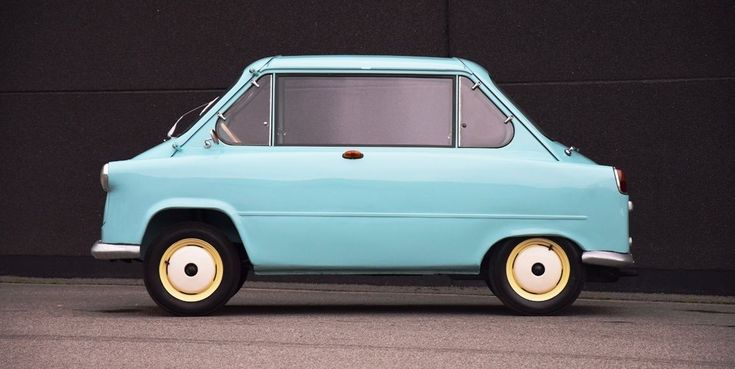 Check Out This Impossibly Quirky Two-Faced German Microcar