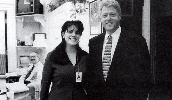 There are reports on radaronline.com that Monica Lewinsky made a sex tape in 1997 with Bill Clinton, devoted husband of Hillary. Hilarious. Actually, Hillaryous.