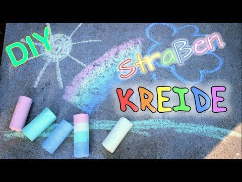 DIY Straßenkreide selber machen - YouTube