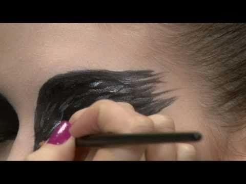 Black swan makeup- Natalie Portman
