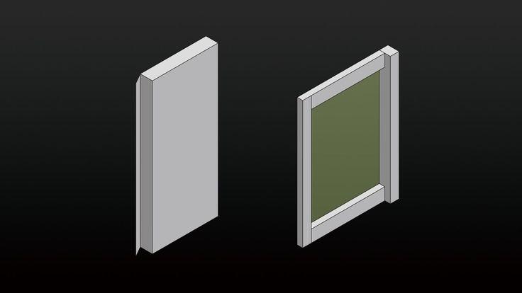ifunwoo :: how to make the door and the window
