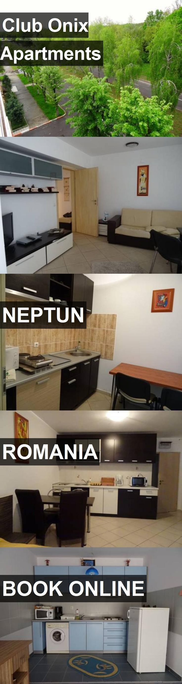 Club Onix Apartments in Neptun, Romania. For more information, photos, reviews and best prices please follow the link. #Romania #Neptun #travel #vacation #apartment