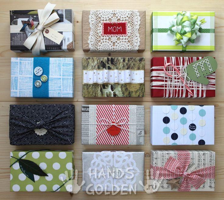 40 идей как упаковать подарок