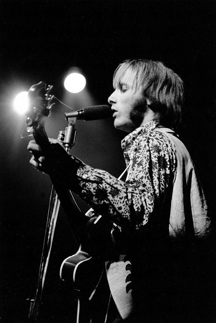 Stephen Stills at the Monterey Festival, California. 1967
